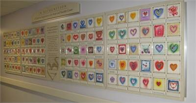 Heart Center Wall