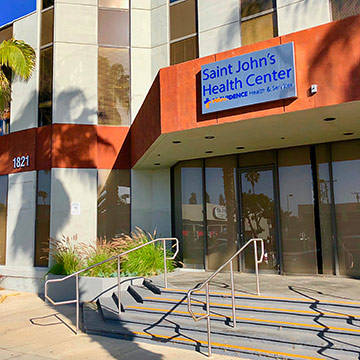 Saint John's Santa Monica Primary Care 1821 Wilshire Blvd.